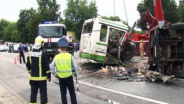 Почему автобус разорвало надвое – мнения экспертов о ДТП под Подольском