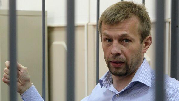 Мэр Ярославля Евгений Урлашов в суде. Архивное фото