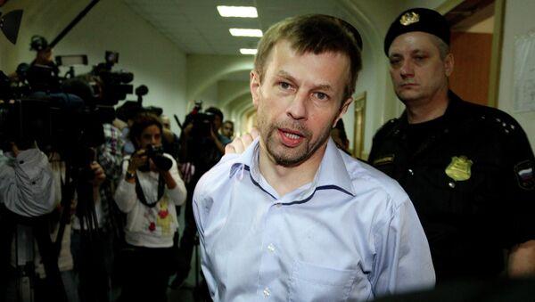 Мэр Ярославля Евгений Урлашов, обвиняемый в получении взятки. Архивное фото