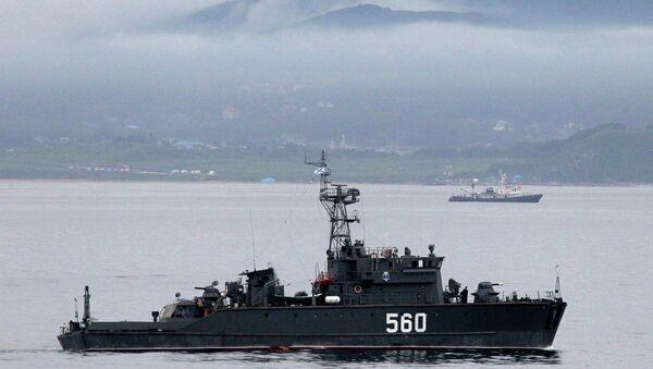 Учения Тихоокеанского флота