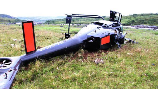 Авария вертолета под Мурманском