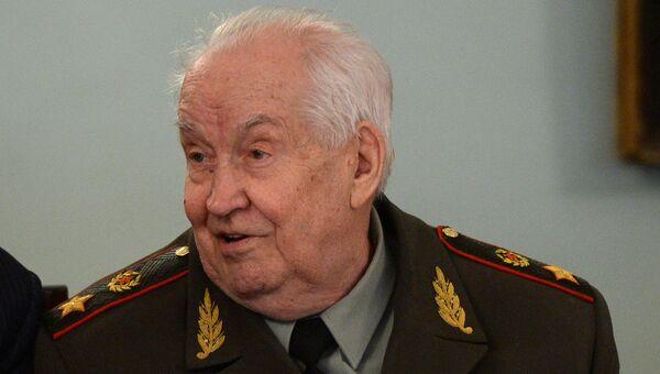 Генерал армии в отставке, профессор Махмут Гареев. Архивное фото