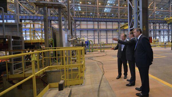Рабочая поездка Д.Медведева в Центральный ФО