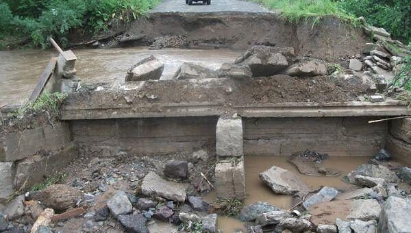 Наводнение в Приморье. Архив.