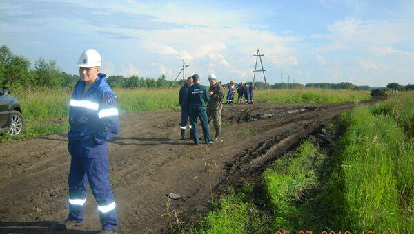 Разлив нефти произошел в Новосибирской области