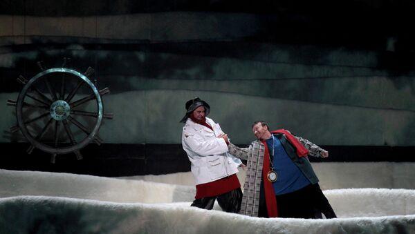 Генеральный прогон оперы Левша в Мариинском театре