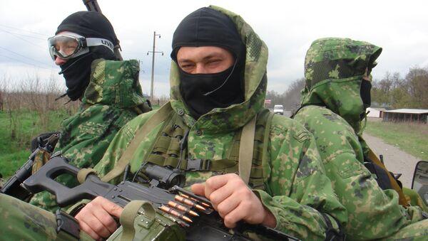 Бойцы отряда Альфа. Архивное фото