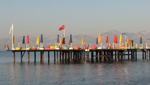 Турецкий курорт в Анталье. Архивное фото