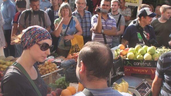 Акция по выявлению несанкционированной уличной торговли в Петербурге