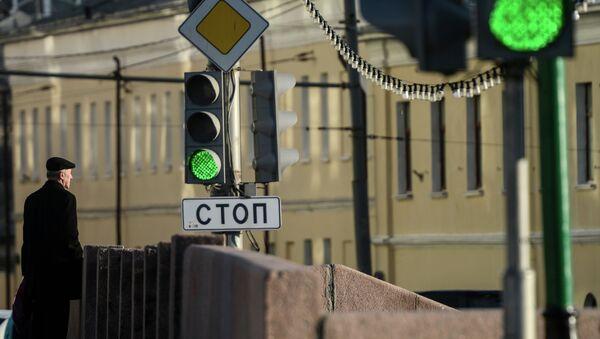 Светофор. Архивное фото