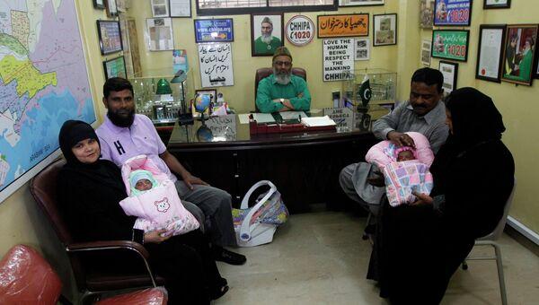 Победители ТВ-конкурса в Пакистане получили в качестве  приза младенцев