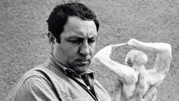 Скульптор Эрнст Неизвестный. Архивное фото