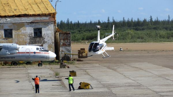 Аэропорт в Якутии