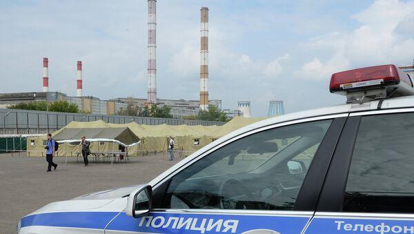 Автомобиль сотрудников правоохранительных органов. Архивное фото