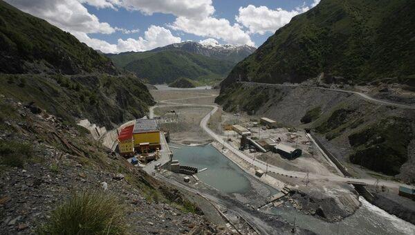 Панорама Зарамагской ГЭС. Архивное фото