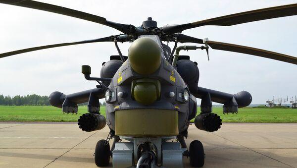 Вертолет Ми-28Н (Ночной охотник). Архивное фото