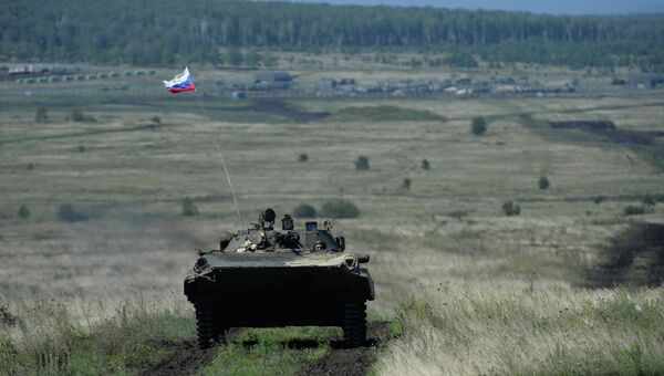 Боевая машина пехоты (БМП-2). Архивное фото