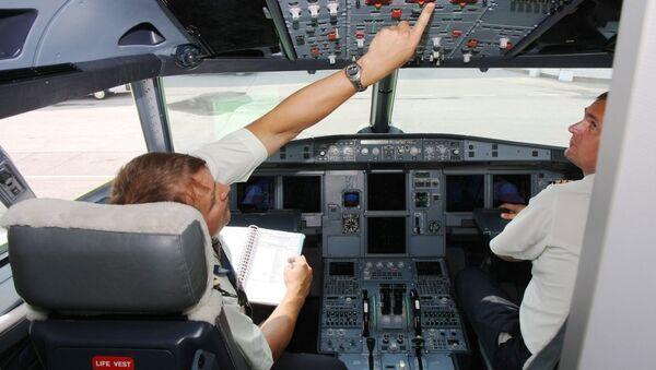 Пилот, архивное фото