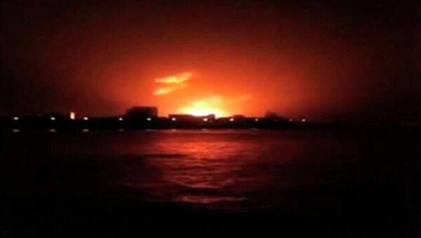 Взрыв на подлодке Синдуракшак в Мумбаи