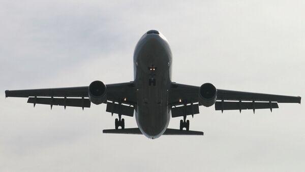 Cамолет Airbus A300. Архив
