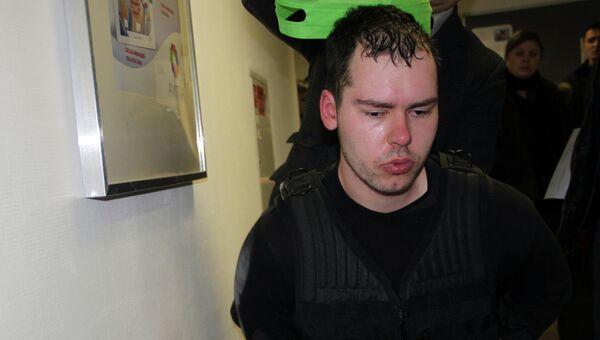 Юрист Дмитрий Виноградов, открывший стрельбу в офисе одной из московских компаний, архивное фото