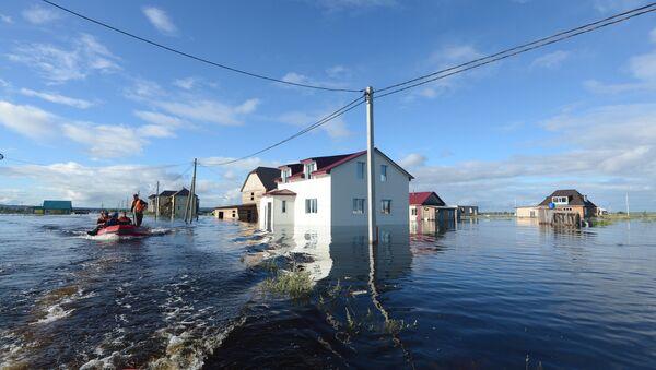 Наводнение в Амурской области. Архивное фото
