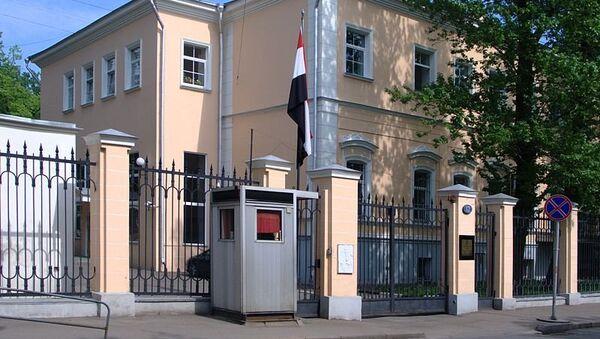 Здание посольства Египта в Москве. Архивное фото