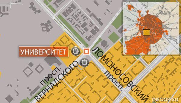 Авария произошла на западе Москвы, четверо погибли