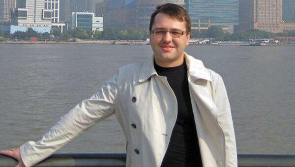 Арт-директор МВО Манеж Андрей Воробьев