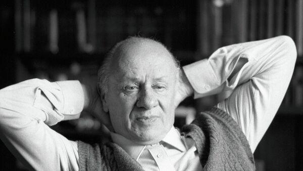 Драматург Виктор Розов. Архивное фото