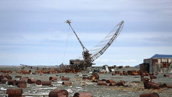 Заброшенная база ПВО. Архивное фото