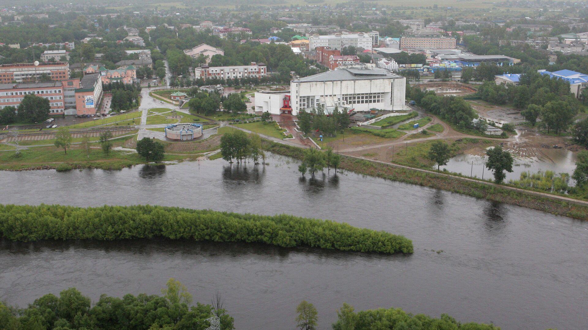 Паводковая ситуация в Еврейской автономной области - РИА Новости, 1920, 16.10.2020