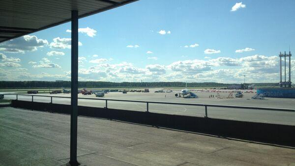 Аэропорт Пулково, архивное фото