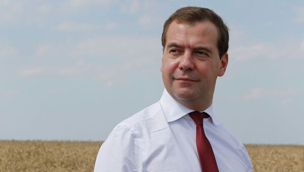 Д.Медведев. Архивное фото.