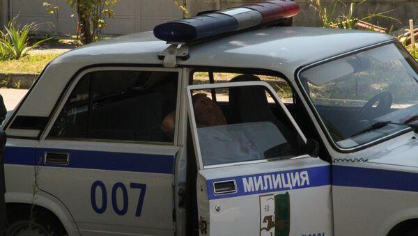 Милиция Сухума, архивное фото