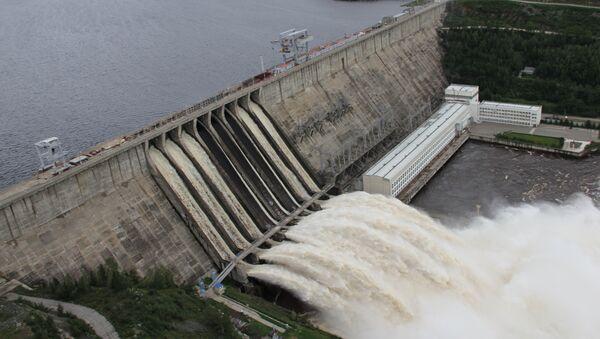 Зейская ГЭС в Приамурье, Архивное фото