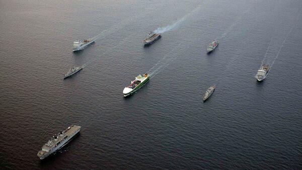 Суда ВМС Великобританиив в Средиземном море
