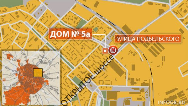 Открытое шоссе в Москве