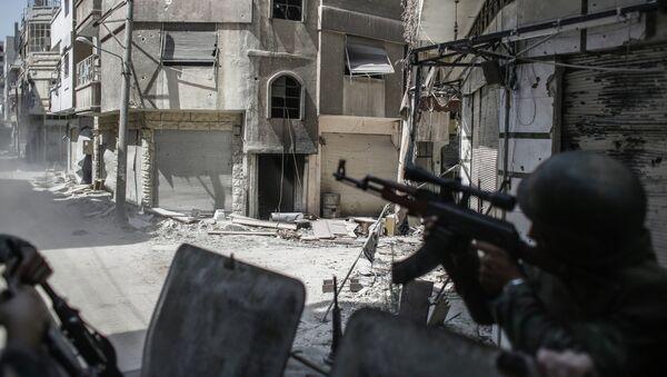 Столкновения в Сирии. Архивное фото