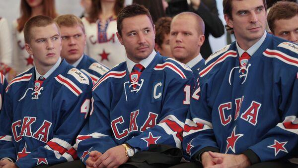 Дмитрий Юдин, Илья Ковальчук и Алексей Семенов (слева направо)