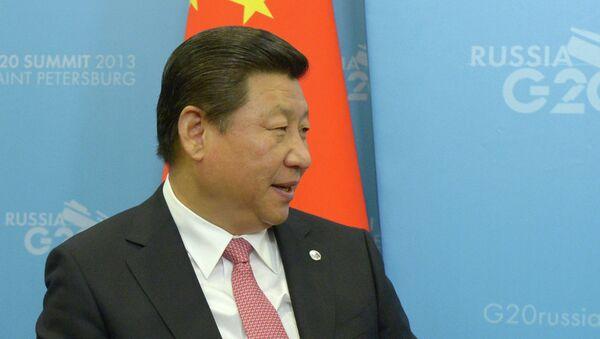 Председатель Китайской Народной Республики (КНР) Си Цзиньпин. Архивное фото