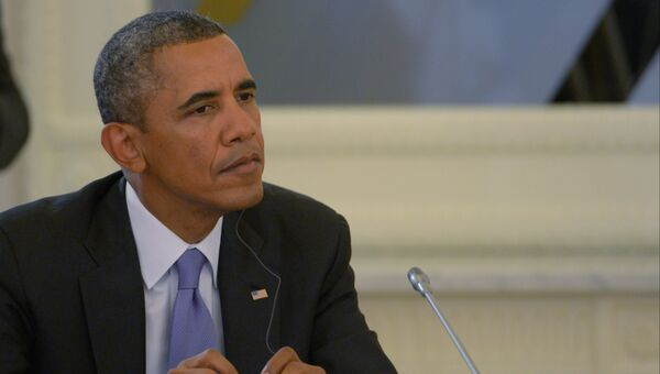 Президент Соединенных Штатов Америки (США) Барак Обама. Архив