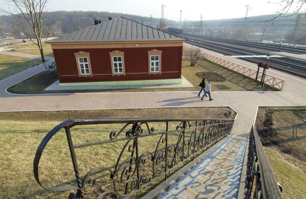 Железнодорожная станция-музей Козлова засека в Тульской области