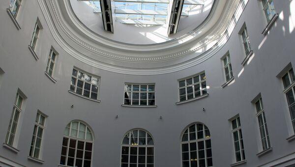 Восточное крыло Главного штаба в Петербурге после реставрации