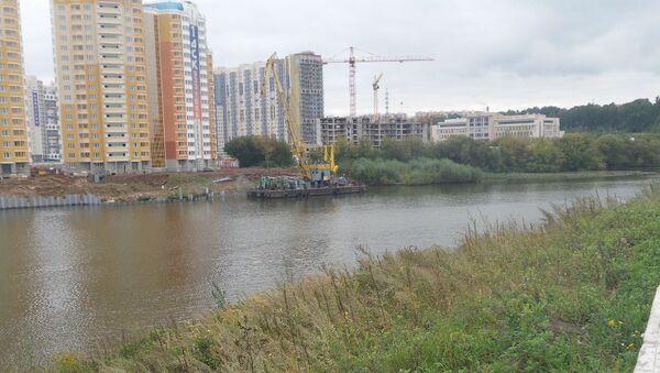 Москва-река в Павшинской пойме Красногорска. Архивное фото