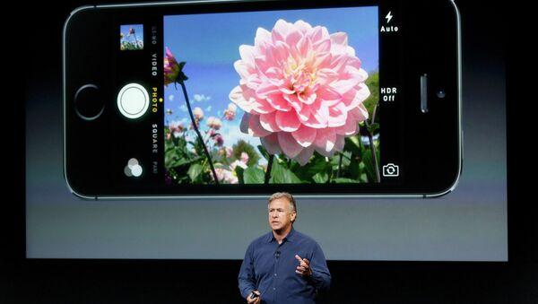 Презентация cмартфона iPhone 5S. Событийное фото