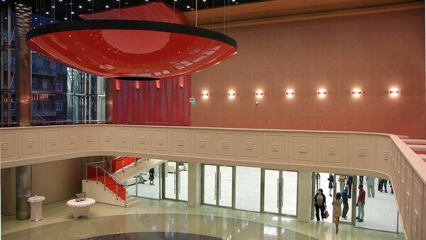Новый Концертный зал в Новосибирске, архивное фото