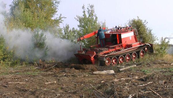 Пожарный танк. Архивное фото