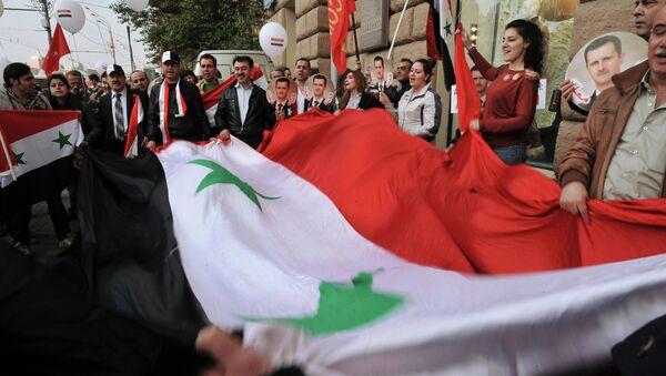 Митинг против американо-натовской военной агрессии в Сирии