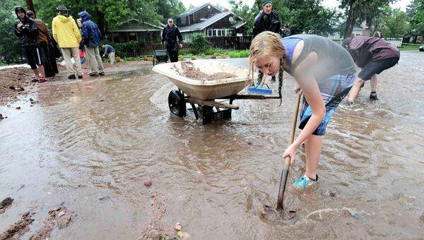 Наводнение в Колорадо, фото с места события
